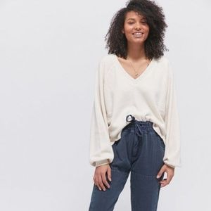 NWOT Urban Outfitters Lilith Sweater V Neck Top